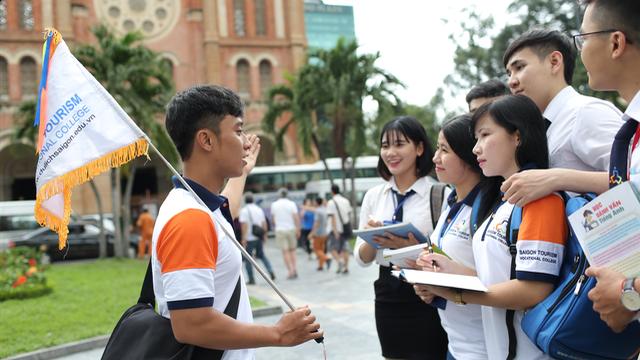 Ngành Văn hóa Du lịch khối C thu hút nhiều thí sinh đăng ký xét tuyển